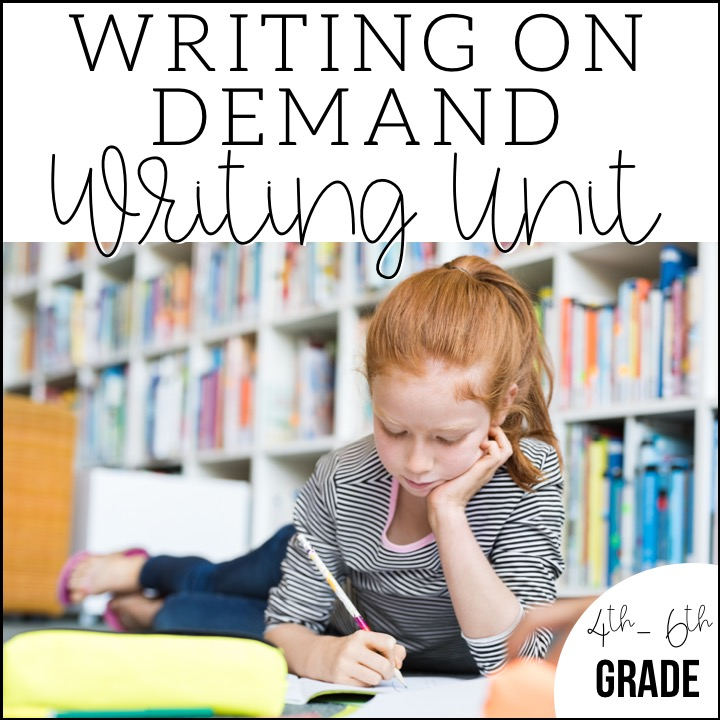 Preparing Your Writers for the State Test