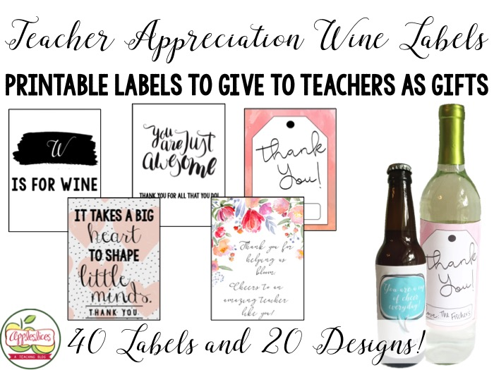 Teacher Gifts for Teacher Appreciation Week!