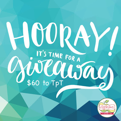 $60 to TpT Giveaway!