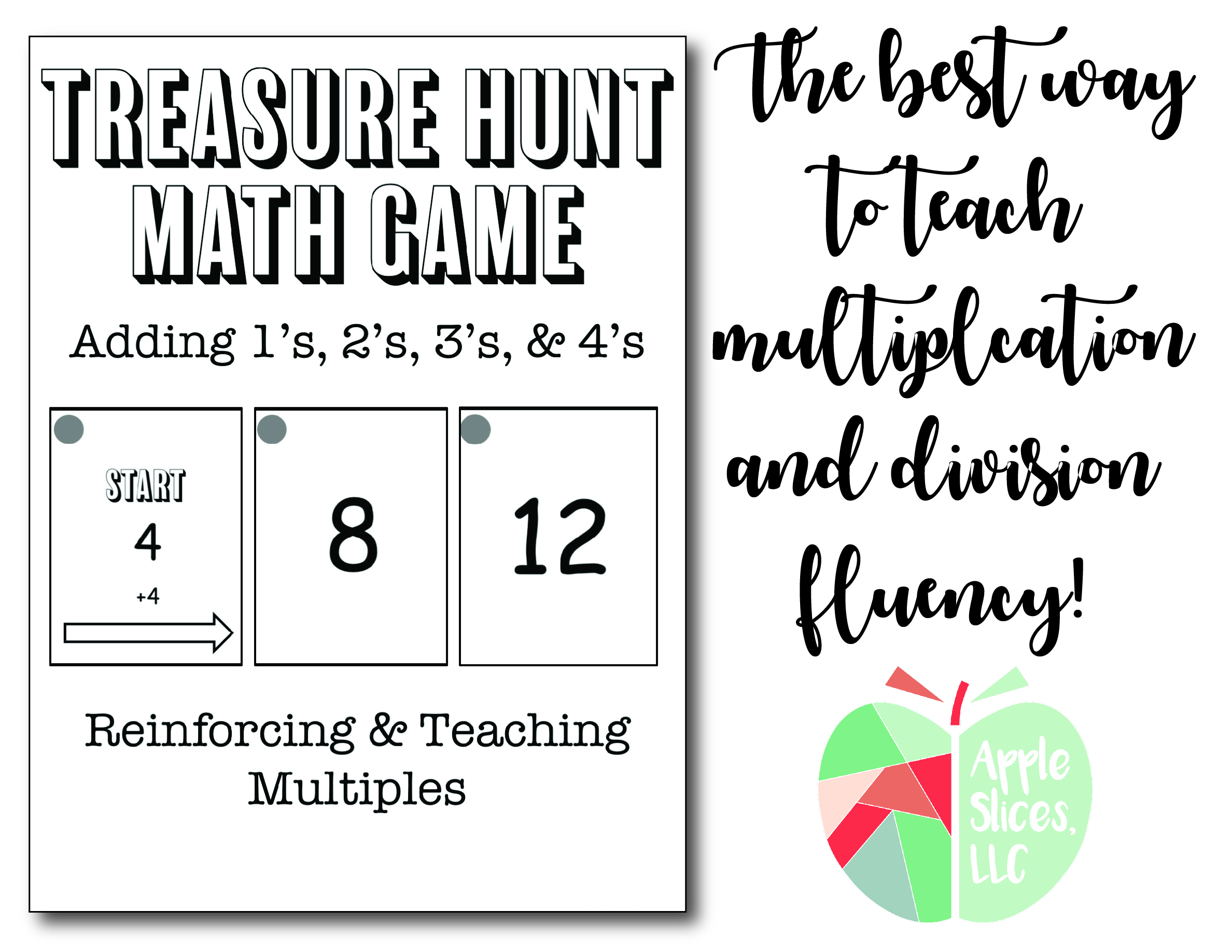 Treasure Hunt Math Game