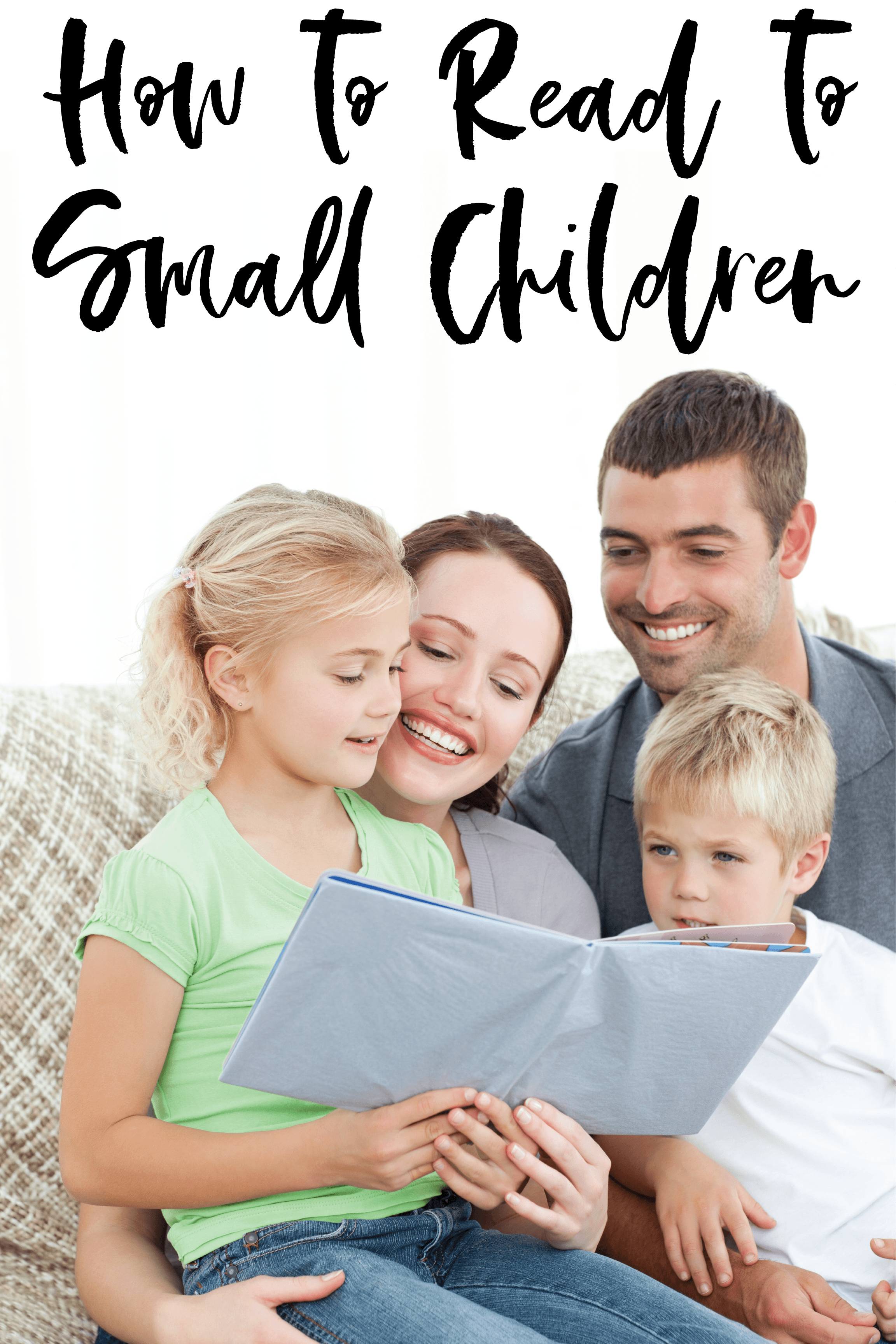 How to Read to Small Children | 5 Tips and Tricks for Making Reading Enjoyable