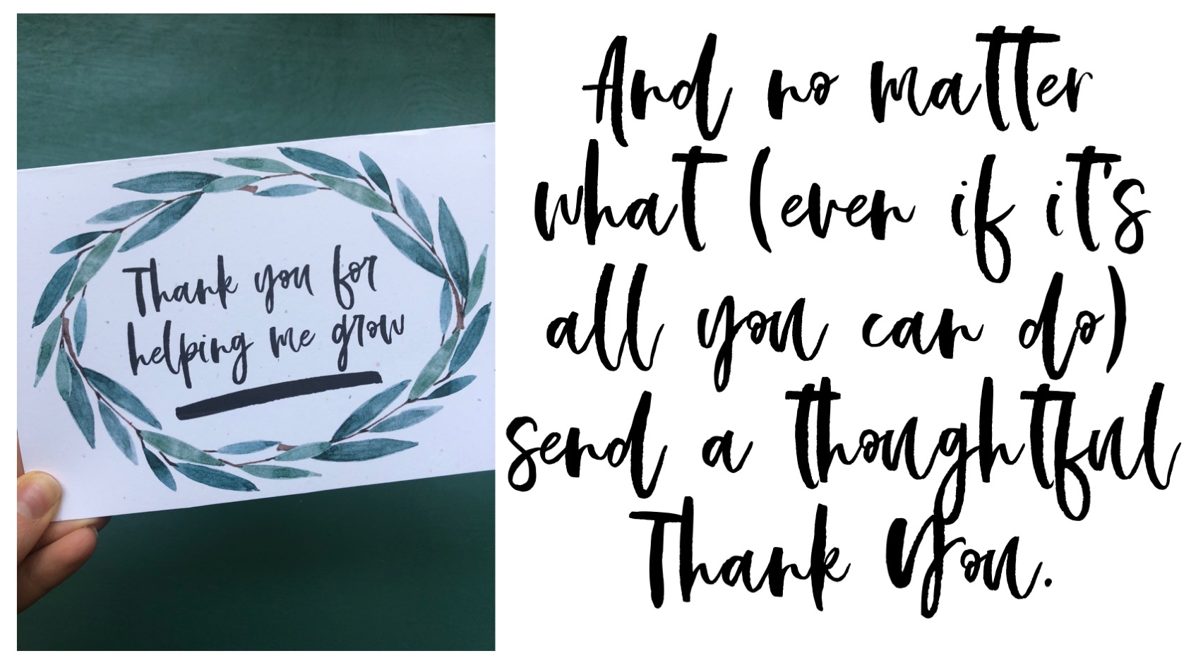 Gifts for Teachers | Teacher Appreciation Gifts | Free Printable Thank You Card