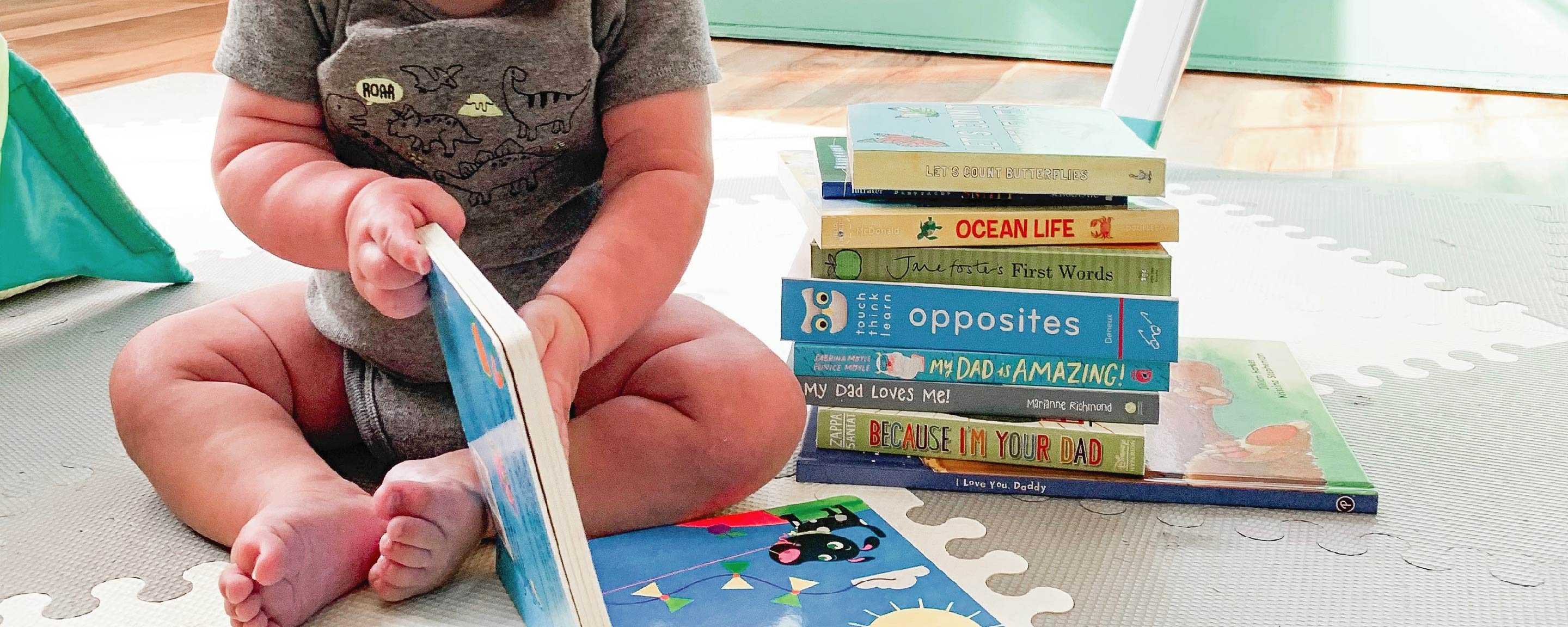 My Favorite Infant and Baby Board Books for Summer