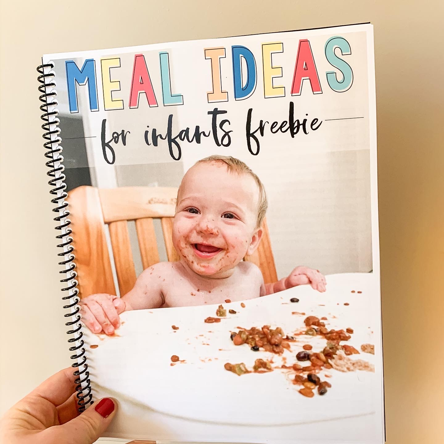 Free Meal Ideas and Activities for Infants