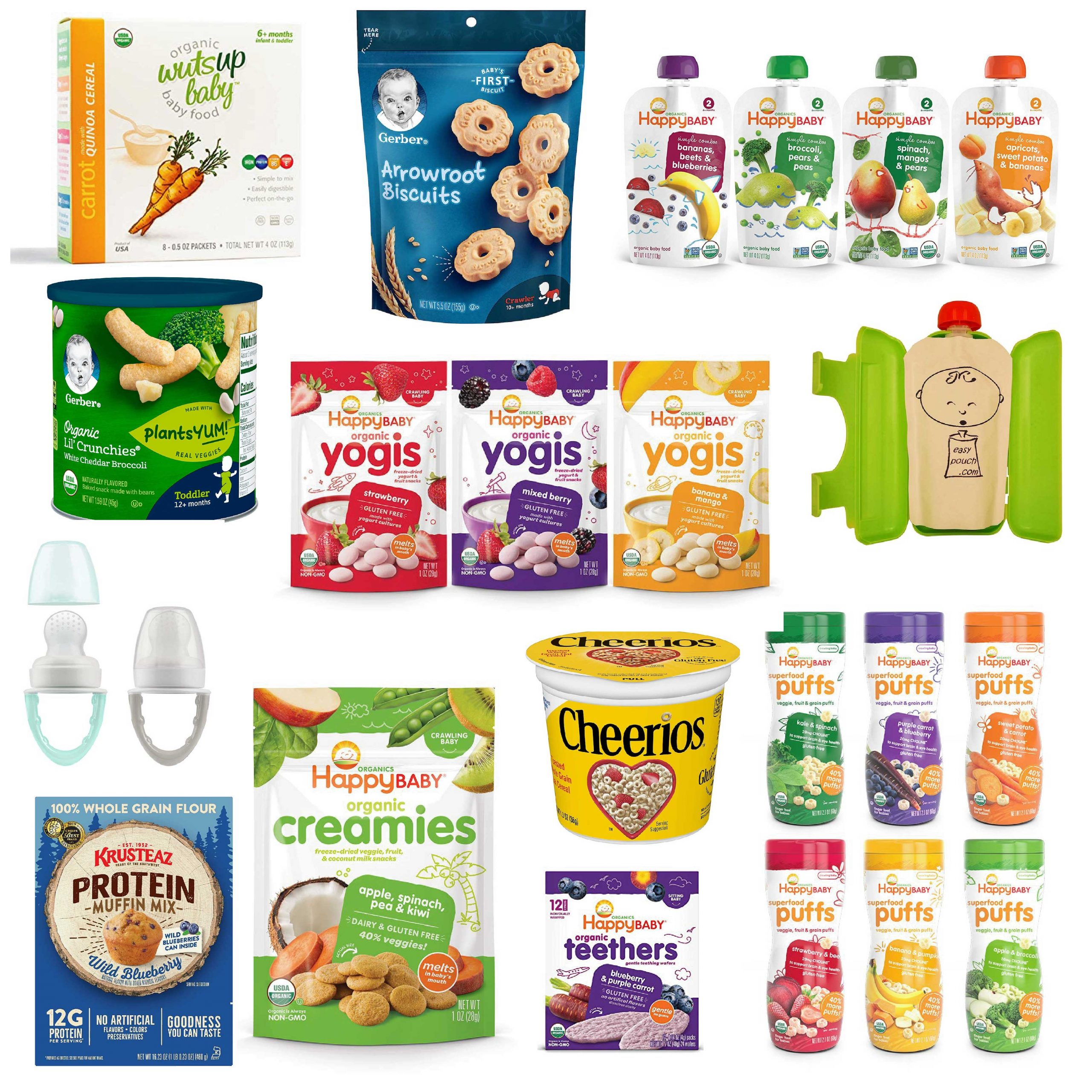 12 Amazon Must-Have Snacks for Your Baby or Infant