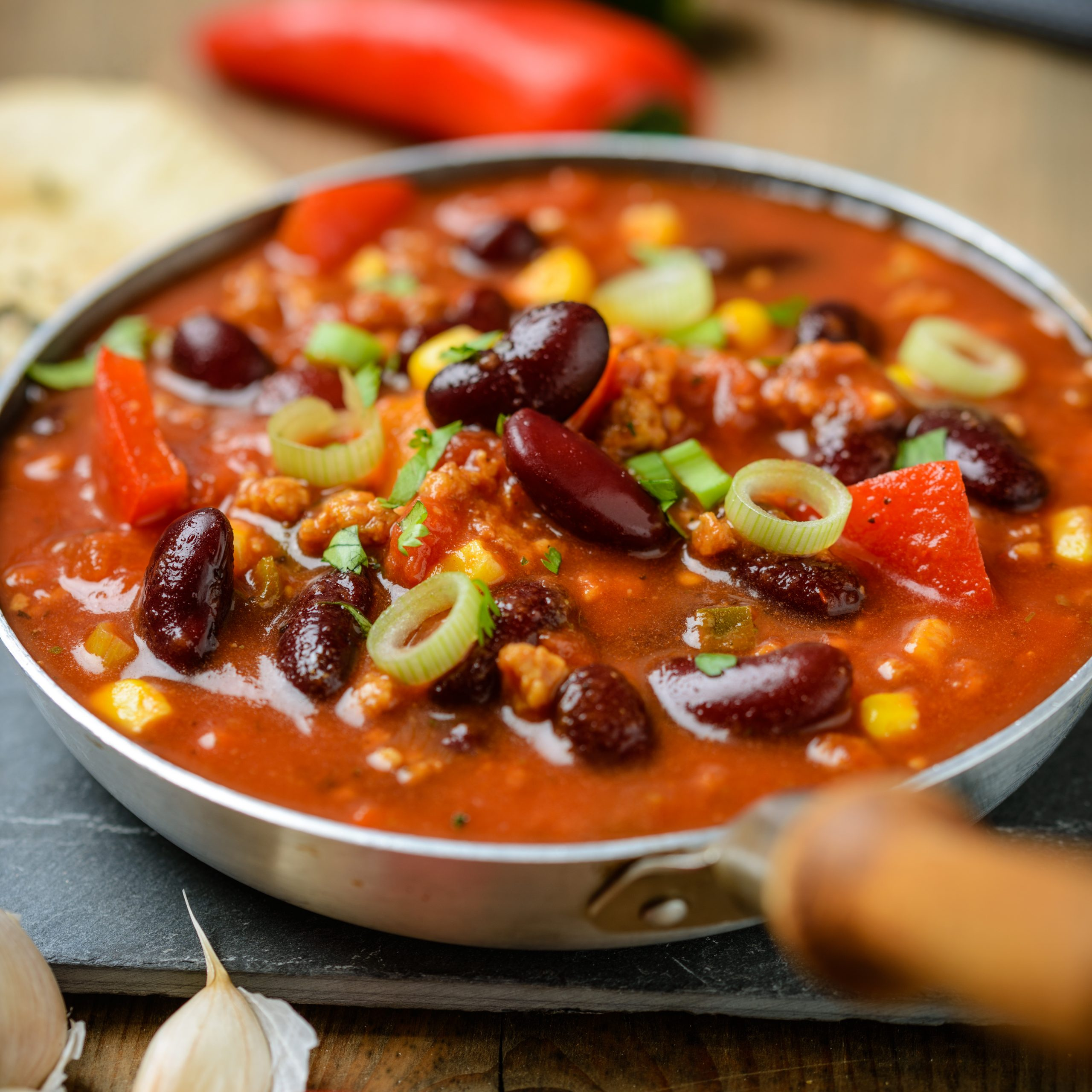 Easy Vegan Chili Recipe for Your Slow Cooker
